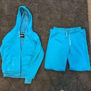 Cheetah Girls Soft Light Blue Sweatsuit